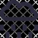 Raining Cloud Sky Icon