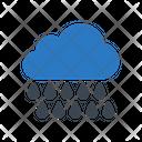 Raining Cloud Weather Icon
