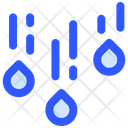 Rain Fall Weather Icon