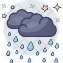 Weather Raining Drizzling Icon