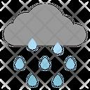 Rain Water Cloud Icon