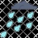 Raining Monsoon Danger Icon
