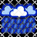 Raining Rain Clouds Icon