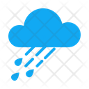 Cloud Rain Atmosphere Climate Increasing Clouds Weather Forecast Icon