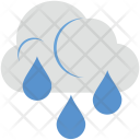 Raining Cloud Rain Icon