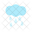 Raining Rainy Rain Icon
