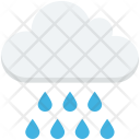 Raining Rainy Weather Icon