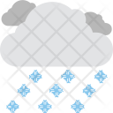 Raining Cloud Weather Icon