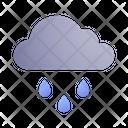 Raining Rain Cloud Icon