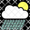 Cloud Precipitation Rainfall Icon