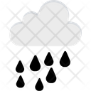 Raining Clouds Rain Icon