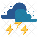Raining Weather Strom Icon