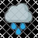 Cloud Overcast Rain Icon