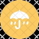 Raining Canopy Umbrella Icon