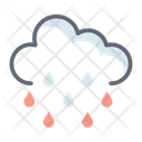 Raining Cloud Icon