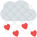 Raining hearts Icon