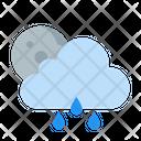 Raining In Night Icon