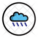 Rainny Rain Cloud Icon