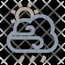Rainstorm Raining Cloud Icon