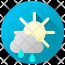Showers Rain Rainfall Icon