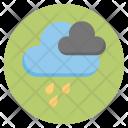 Rain Clouds Forecast Icon
