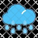Rainy Cloud Weather Icon