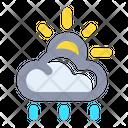 Rainy Rain Cloud Icon
