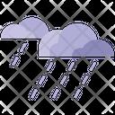 Rainy Rain Forecast Icon