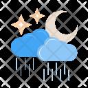 Rainy Cloud With Icon