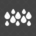 Rainy Rain Drop Icon