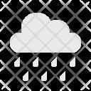 Cloud Rainy To Icon