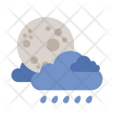 Moon Cloud Weather Icon