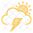 Rainy Atmosphere Cloud Icon