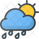 Rainy atmosphere Icon