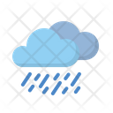 Cloudy Clouds Rainny Icon