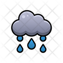 Rainy Day Weather Sky Icon