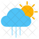 Weather Rainy Morning Icon