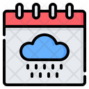 Rain Rainy Season Icon