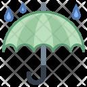 Rainy Weather Umbrella Icon