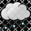 Rainy Weather Rain Clouds Icon