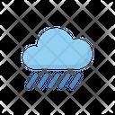 Rainy Cloud Forecast Icon