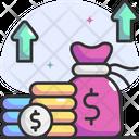 Raising Small Amounts Icon