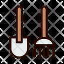 Rake Spade Gardening Rake Icon