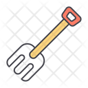 Rake Gardening Equipment Gardening Fork Icon