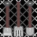Rake Gardening Garden Icon
