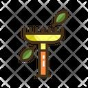 Rake Gardening Equipment Equuipment Icon