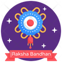 Rakhi Festival Raksha Bandhan Raksha Bandhan Label Icon