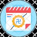Indian Calendar Raksha Bandhan Calendar Event Reminder Icon