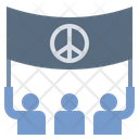 Rally Protest Peace Icon