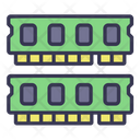 Ram Memory Technology Icon